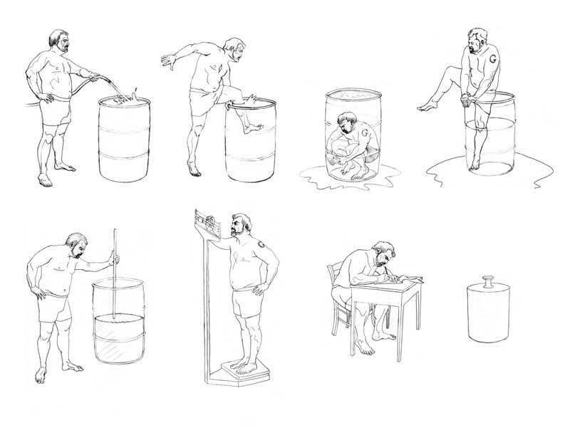 Chris Saucedo ~ Drawings